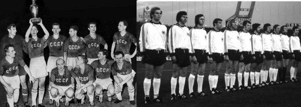 Κύπελλο Εθνών Ευρώπης - Οι πρώτες διοργανώσεις