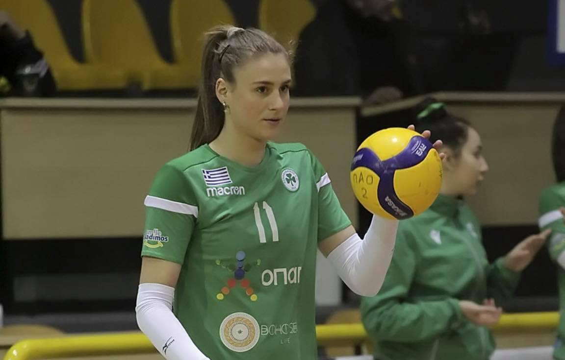 Για πρώτη φορά στην Εθνική γυναικών η Βολιώτισσα βολεϊμπολίστρια Μ. Τσιτσιγιάννη