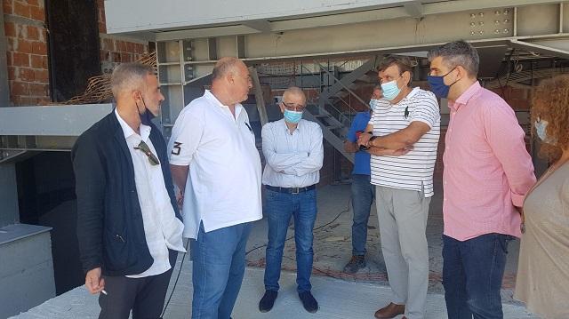 Επίσπευση των εργασιών στο πάρκινγκ της Φιλελλήνων ζήτησε ο Αχ. Μπέος