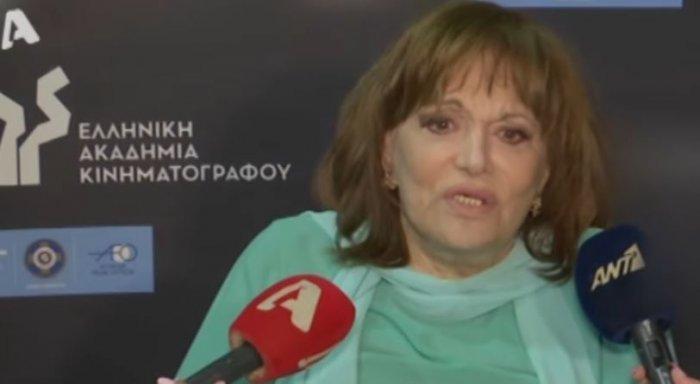 Η Μαίρη Χρονοπούλου ανέβηκε στη σκηνή των βραβείων Ιρις και συγκίνησε με τον λόγο της