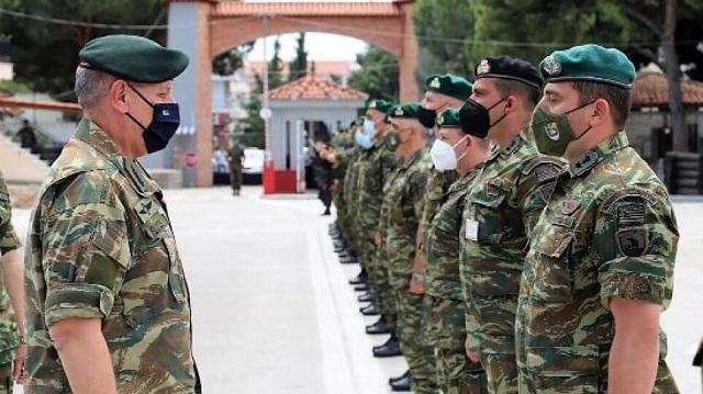 Επιχειρησιακή ετοιμότητα της 32ης Ταξιαρχίας ζήτησε ο Αρχηγός ΓΕΕΘΑ