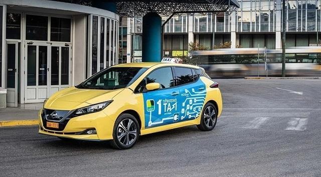Δύο χιλιάδες νέα ηλεκτρικά ταξί με επιδότηση 22.500 ευρώ