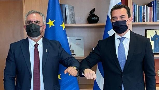 Υπογραφή σύμβασης για χρηματοδότηση της Δράσης «Αντικατάσταση συστημάτων θέρμανσης πετρελαίου με συστήματα φυσικού αερίου σε κατοικίες στην Περιφέρεια Θεσσαλίας»