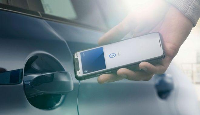 Το iPhone γίνεται και κλειδί του αυτοκινήτου