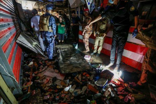 Ιράκ: Είκοσι νεκροί από έκρηξη αυτοσχέδιου μηχανισμού σε αγορά στη Σαντρ Σίτι