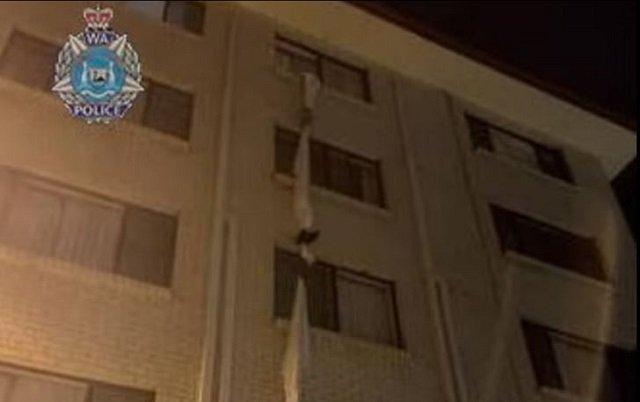 Απίστευτο... prison break από το ξενοδοχείο καραντίνας -Έφτιαξε σκοινί από σεντόνια και το έριξε από τον 4ο όροφο