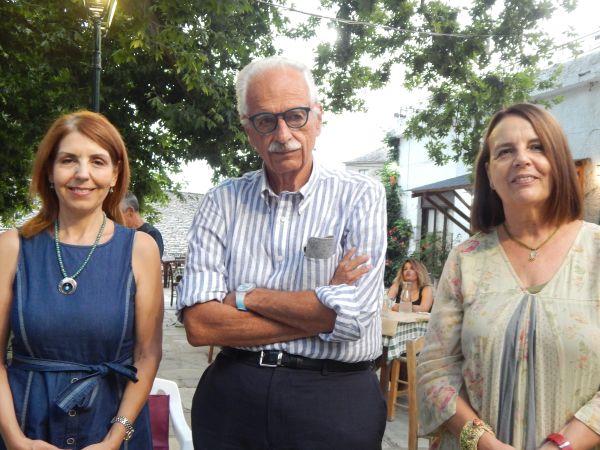 Τιμήθηκε ο καθηγητής Κ. Γουργουλιάνης προχθές στη Δράκεια