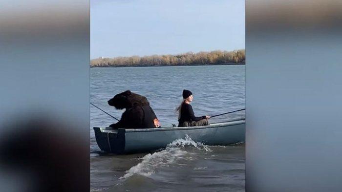 Viral η αρκούδα που πηγαίνει για...ψάρεμα