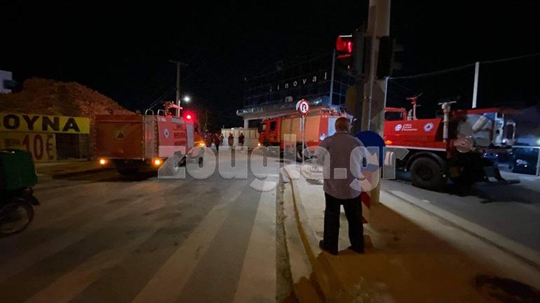 Έκρηξη στα γραφεία εταιρείας πετρελαιοειδών στη Βάρη με έναν τραυματία