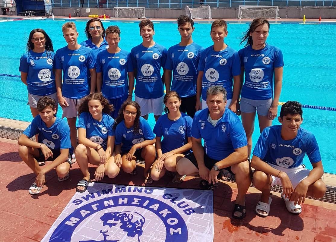Επιτυχημένη παρουσία του Μαγνησιακού στο Πανελλήνιο Κολύμβησης