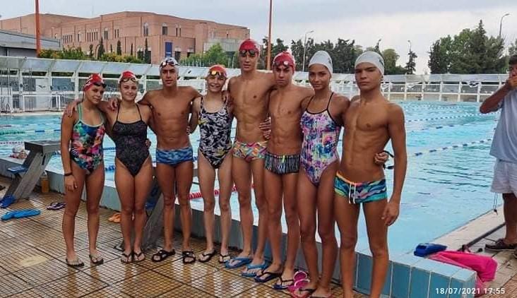 Μετάλλια σε κλασική και τεχνική κολύμβηση για τον Ολυμπιακό Β.