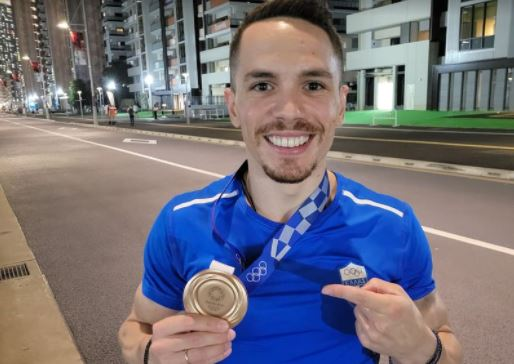 Πετρούνιας: Το πρώτο μήνυμα μετά το χάλκινο μετάλλιο