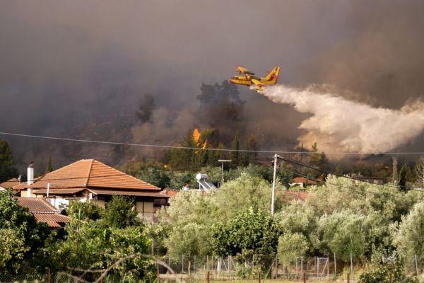 Χαρδαλιάς: 118 φωτιές σε ένα 24ωρο στην Ελλάδα