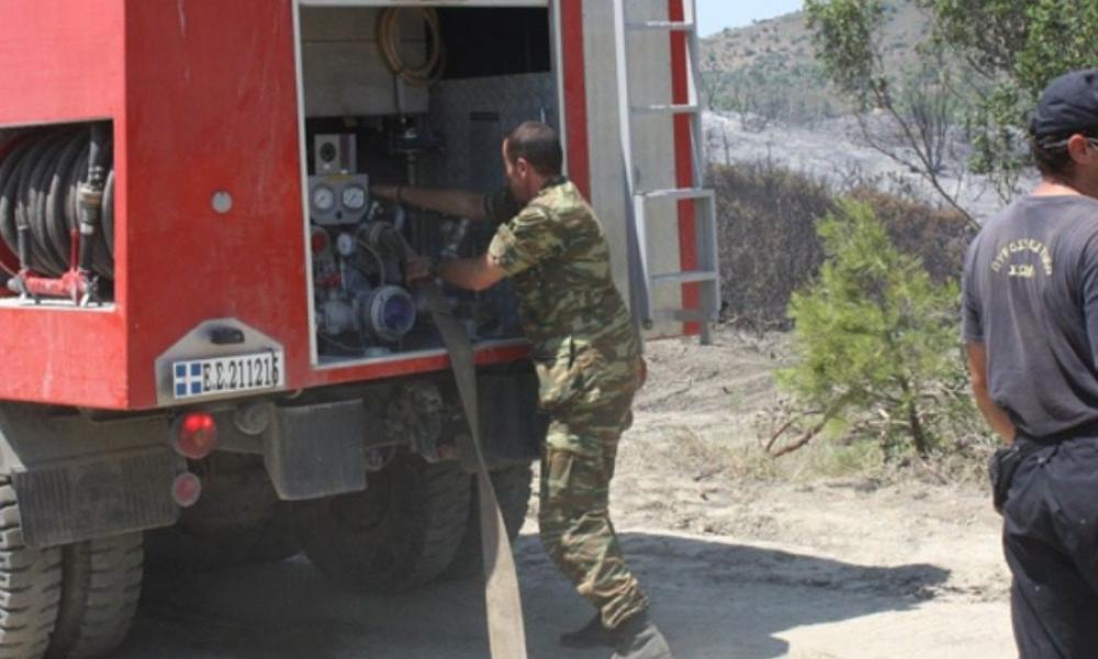 Συναγερμός - Κατεβαίνει ο στρατός στη μάχη με τις φλόγες