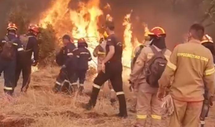 Φωτιά – Βαρυμπόμπη: Παρέμβαση Εισαγγελέα για τα αίτια της φωτιάς
