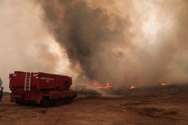 Τοξικός ο καπνός και τα αιωρούμενα σωματίδια της φωτιάς