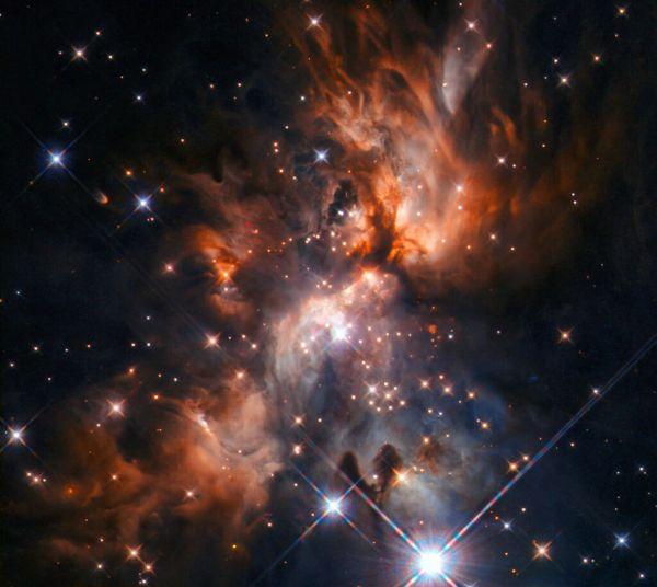 Το Hubble απαθανατίζει μαιευτήριο άστρων