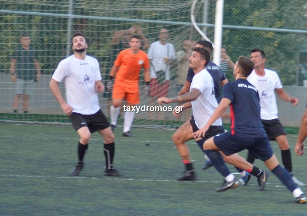 Φιλική νίκη του Πυράσου με 1-3 επί της Αγίας Αννας (photos)