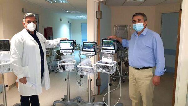 Παραδόθηκε ιατροτεχνολογικός εξοπλισμός στο Νοσοκομείο Βόλου