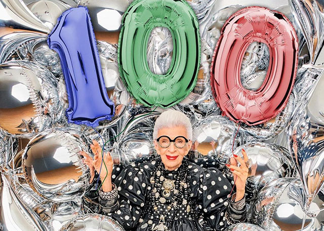 Άιρις Άπφελ -Το fashion icon που έκλεισε τα 100 ανακοίνωσε το νέο της επαγγελματικό βήμα