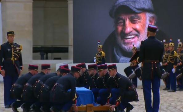 Η Γαλλία τίμησε τον Μπελμοντό