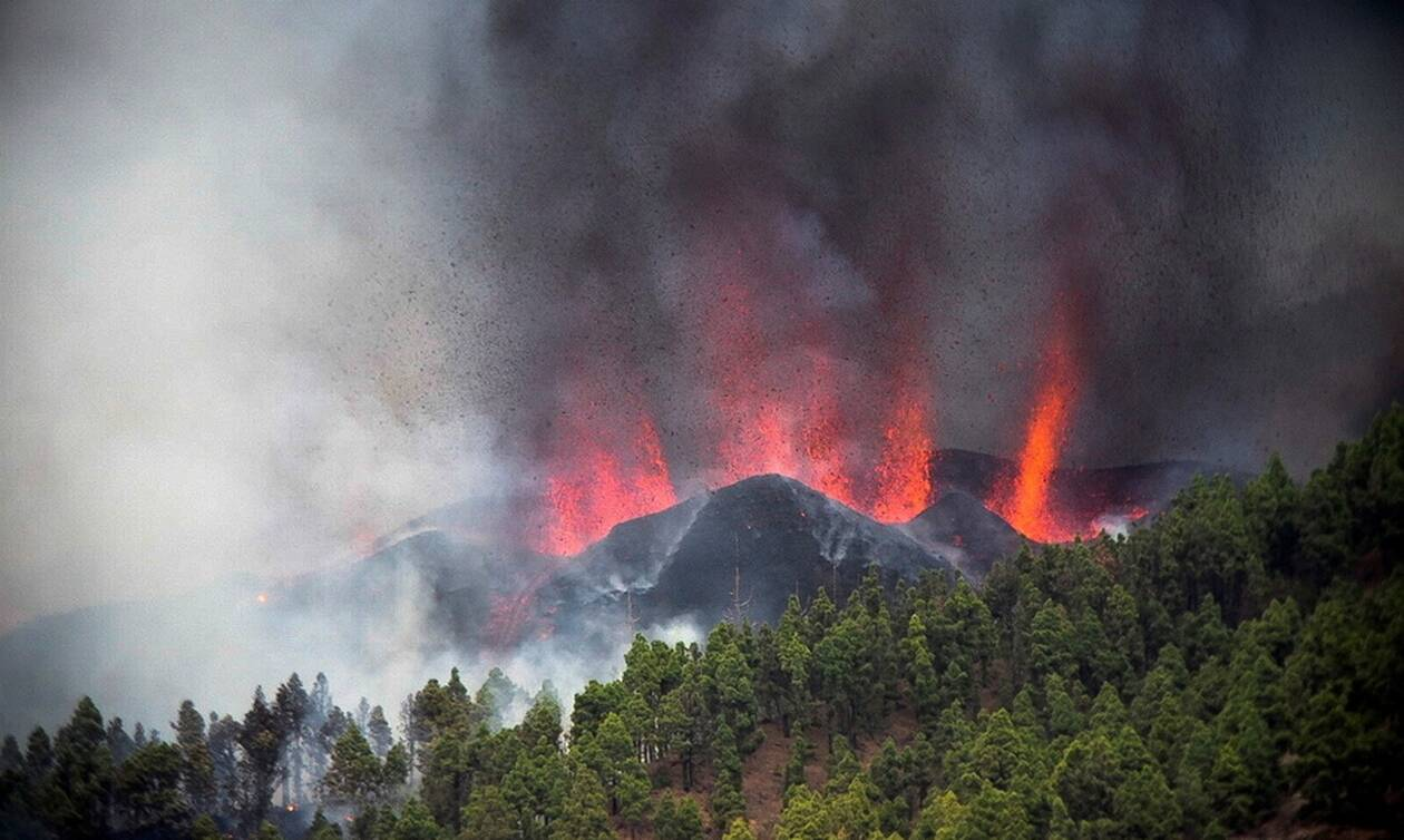 Έκρηξη ηφαιστείου στη Λα Πάλμα: Εκκενώνονται 10 κοινότητες