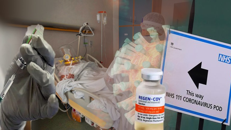 Βρετανία: Αρχίζει η χορήγηση του φαρμάκου αντισωμάτων Ronapreve από το NHS