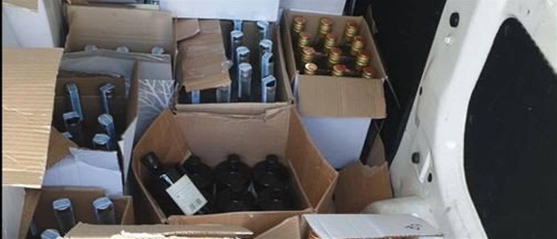 """Χιλιάδες ποτά - """"μπόμπες"""" από τη Βουλγαρία στην ελληνική αγορά"""