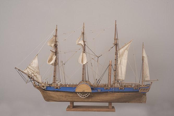 Καράβια θρύλοι στο Μουσείο Τσαλαπάτα