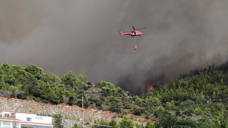Κάρυστος: Στο νοσοκομείο 4 άτομα μετά απο φωτιά στο σκάφος τους