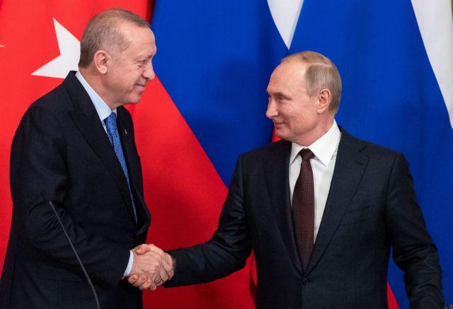 Κρεμλίνο: Δεν προβλέπεται υπογραφή συμφωνιών μετά τη συνάντηση Πούτιν-Ερντογάν