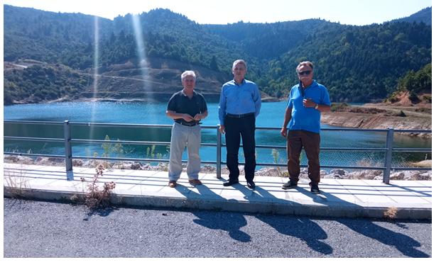 Επίσκεψη κλιμακίου της ΛΑΣ Θεσσαλίας  με επικεφαλής τον Τ. Τσιαπλέ στον Αλμυρό