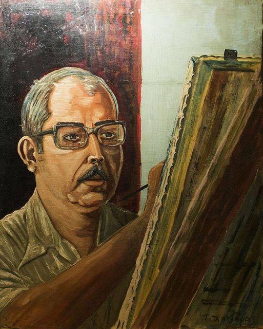 Ο ζωγράφος Αναστάσιος Χατζάρας