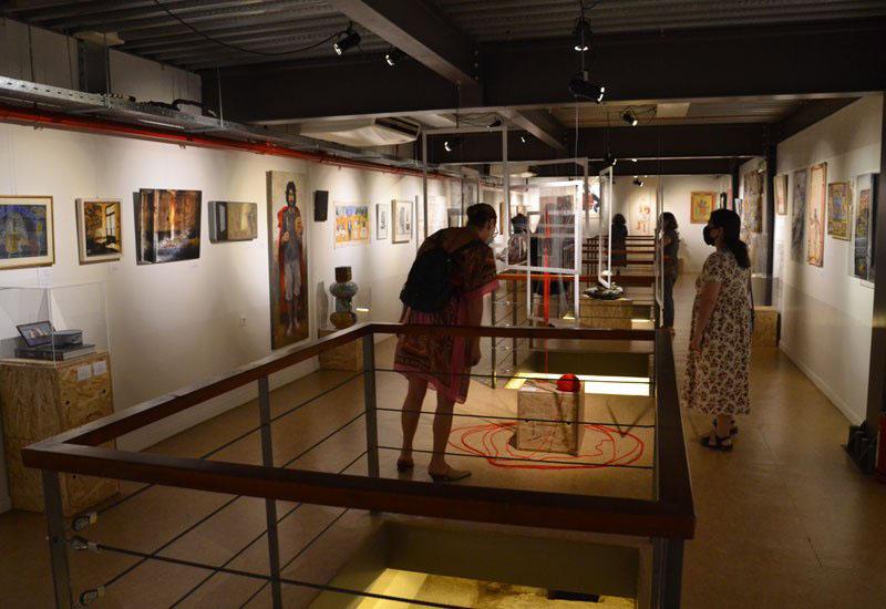 Εργα ζωγραφικής του Χαράλαμπου Γάτουεκτίθενται στο Μουσείο Πόλης του Βόλου
