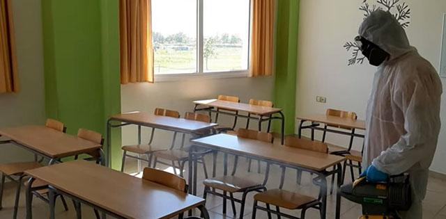 Αυξάνονται τα κρούσματα στα σχολεία της Μαγνησίας – Απολύμανση σε σχολείο της Ν. Ιωνίας