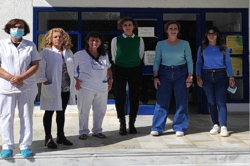 Διασύνδεση της Ελληνικής Εταιρείας Νόσου Αλτσχάιμερ & Συγγενών Διαταραχών Βόλου με Κέντρο Υγείας Σκοπέλου