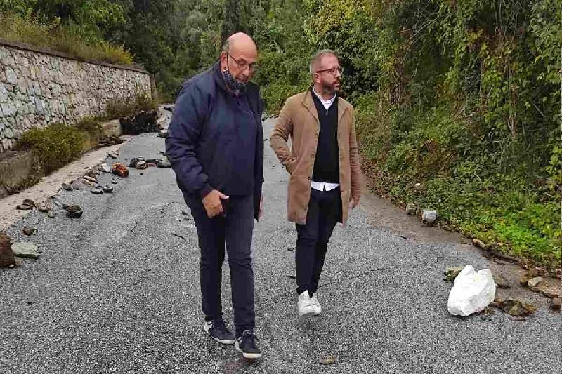Ο Αλ. Μεϊκόπουλος στις πληγείσες περιοχές του Δήμου Ρήγα Φεραίου