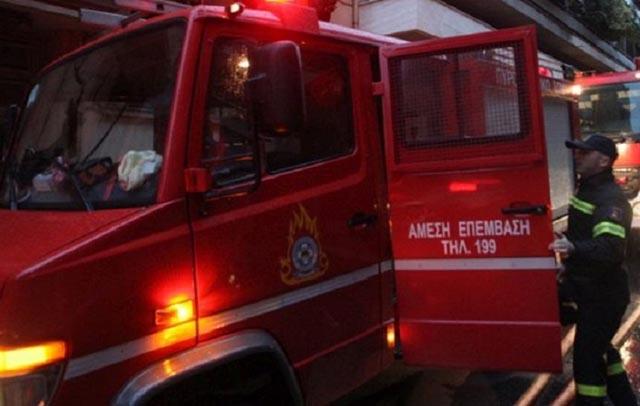 Φωτιά σε στρέμματα στην Ευξεινούπολη