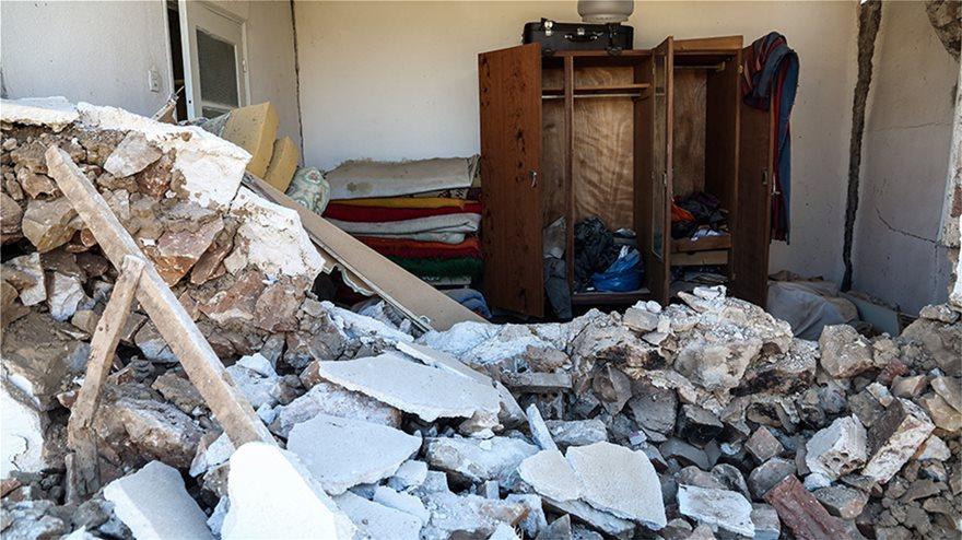 Σεισμός στο Αρκαλοχώρι: Κρούσματα γαστρεντερίτιδας στους άστεγους σεισμοπαθείς του Εγκέλαδου