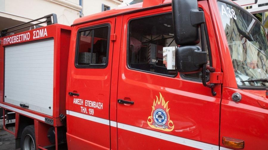 Πυρκαγιά  στην Ευξεινούπολη