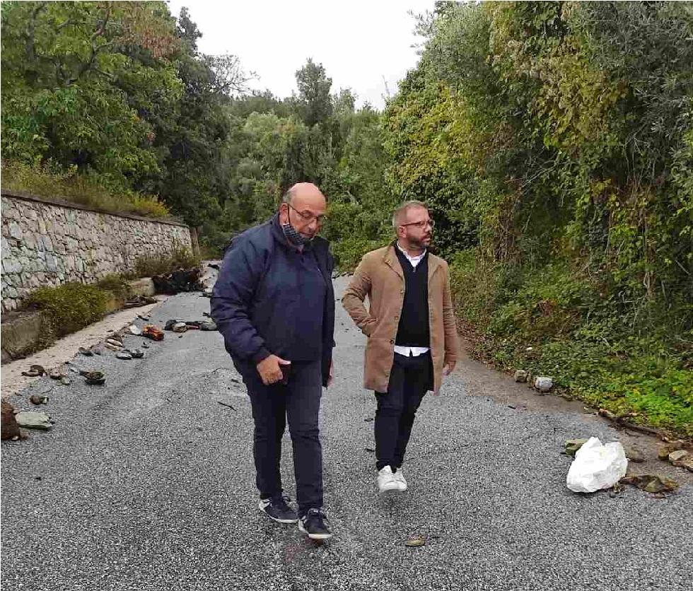 Επίσκεψη Μεϊκόπουλου στις πληγείσες  περιοχές του δήμου Ρήγα Φεραίου