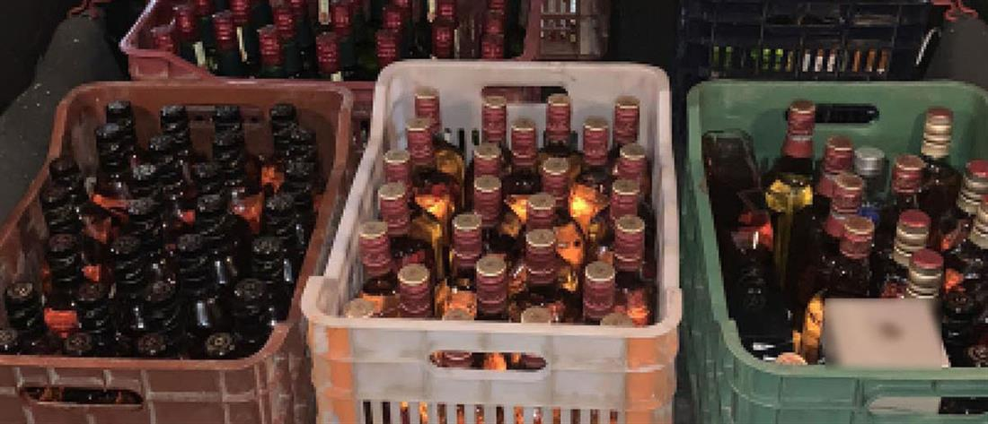 """Έφερναν ποτά """"μπόμπες"""" από την Βουλγαρία"""