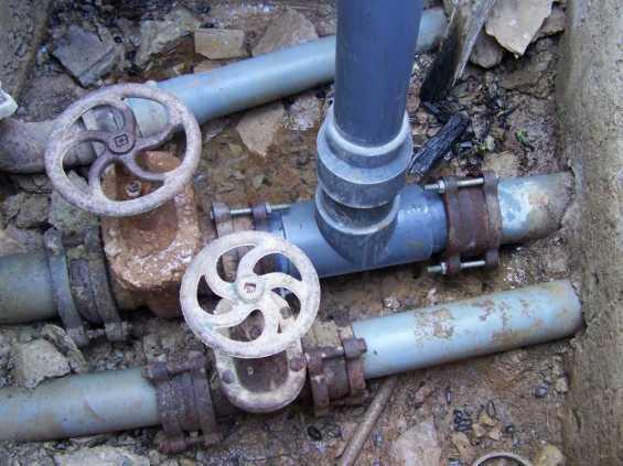 Νέα δίκτυα ύδρευσης
