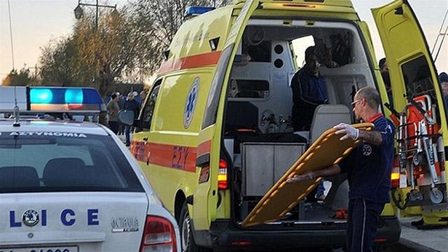 Ένας νεκρός και εννέα τραυματίες σε τροχαίο με μετανάστες στη Θεσσαλονίκη