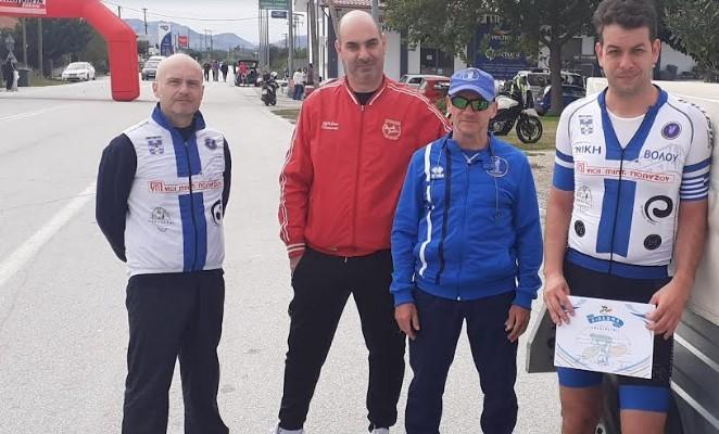 """Έτρεξαν για τη """"Φλόγα"""" και για διασυλλογικούς οι ποδηλάτες της Νίκης"""