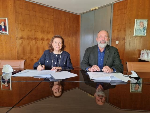 Πρωτόκολλο συνεργασίας υπέγραψαν το Πανεπιστήμιο Θεσσαλίας και ο Σύνδεσμος Βιομηχανιών Θεσσαλίας και Στερεάς Ελλάδος