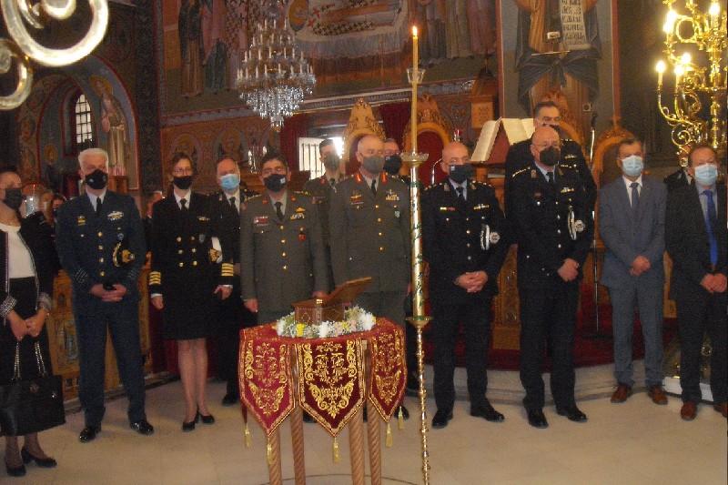 Τιμάται σήμερα ο προστάτης της Ελληνικής Αστυνομίας Αγιος Αρτέμιος