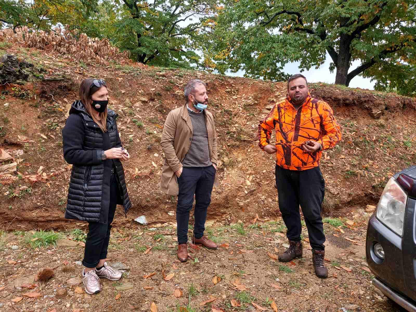Συνάντηση Μεϊκόπουλου με καστανοπαραγωγούς του Δήμου Ζαγοράς-Μουρεσίου