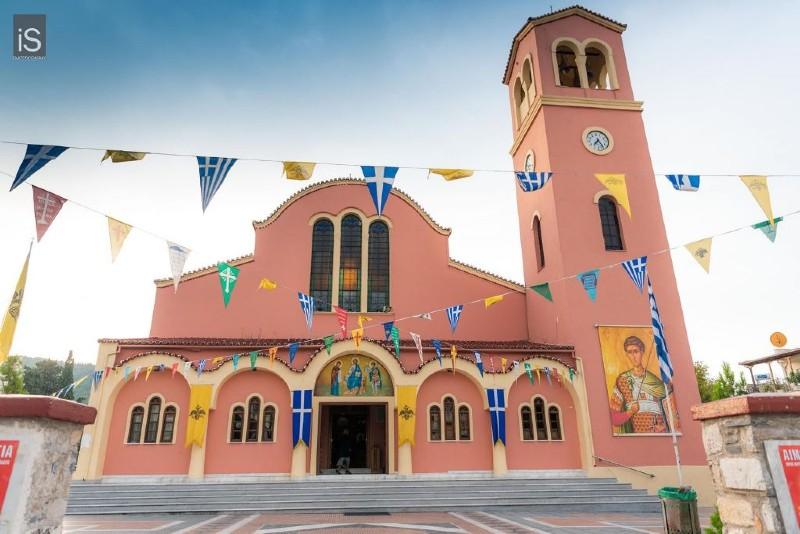 Η Ιερά Εικόνα της Παναγίας Δαμάστας στον Βόλο