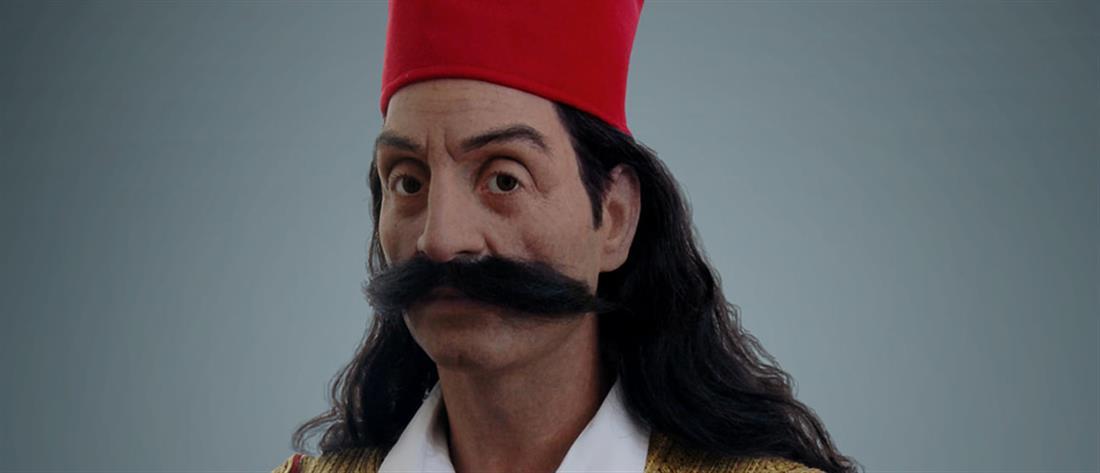 Ο Γεώργιος Καραϊσκάκης έγινε... κέρινο ομοίωμα